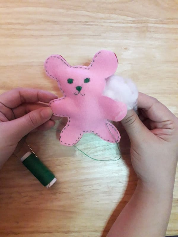 How To Make A Tiny Stuffed Cat Toys DIY Cat Toys For Cat